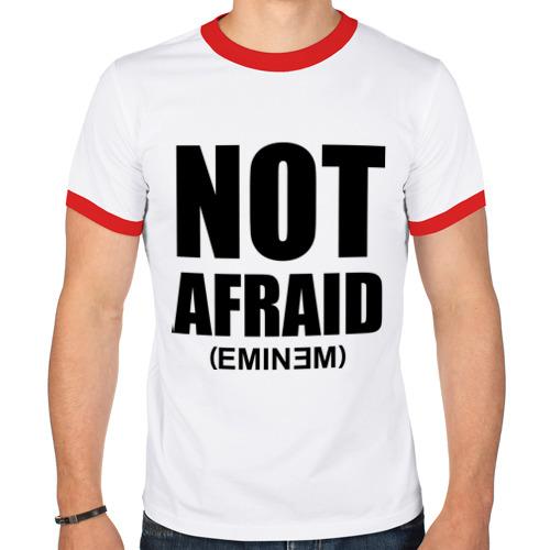 Мужская футболка рингер  Фото 01, Not Afraid