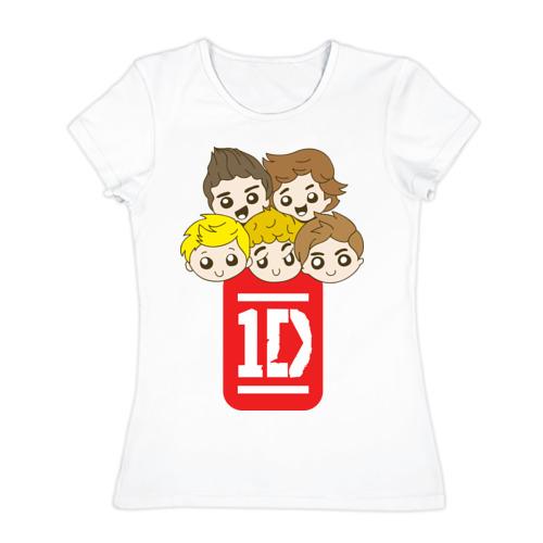 Женская футболка хлопок 1D