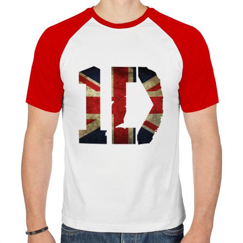 Мужская футболка реглан  Фото 01, 1D British flag