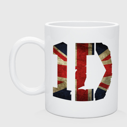 Кружка 1D British flag