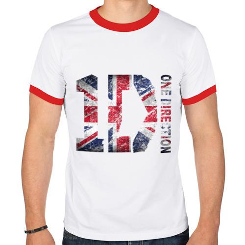 Мужская футболка рингер  Фото 01, 1D