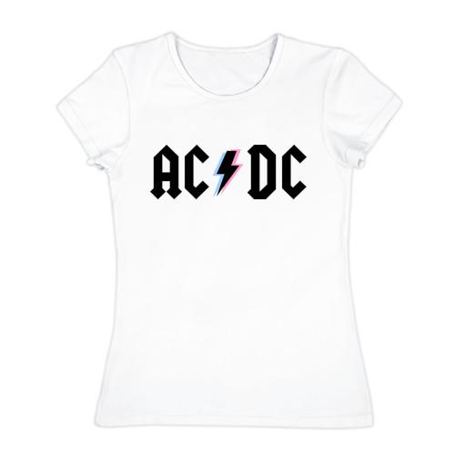 Женская футболка хлопок  Фото 01, ACDC