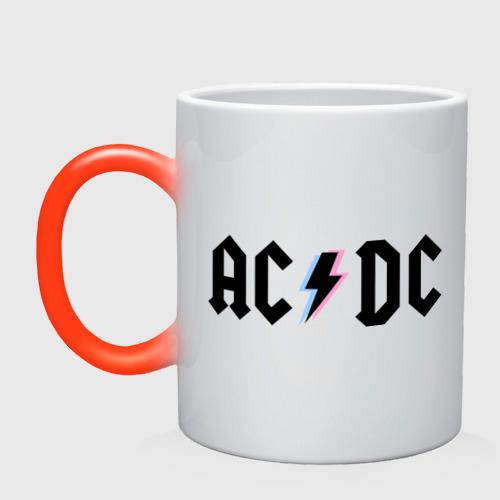 Кружка хамелеон ACDC