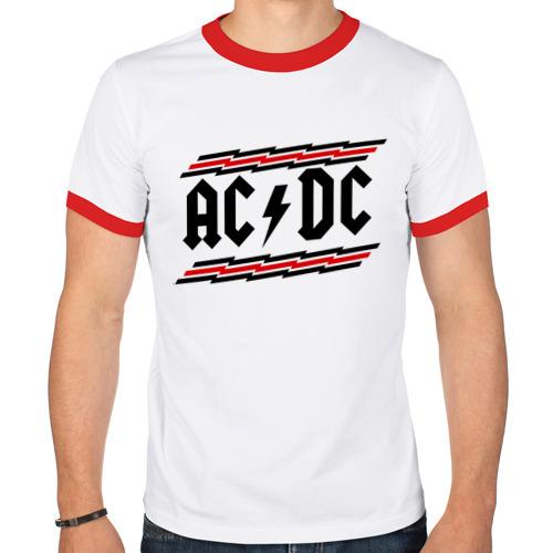 Мужская футболка рингер  Фото 01, ACDC
