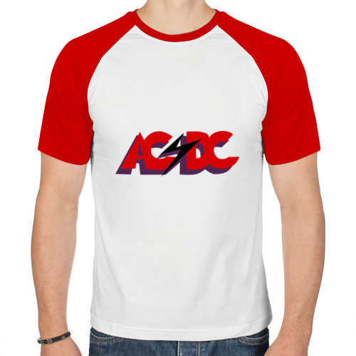 Мужская футболка реглан  Фото 01, ACDC