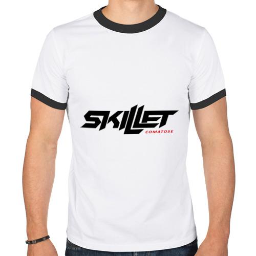Мужская футболка рингер  Фото 01, Skillet comatose