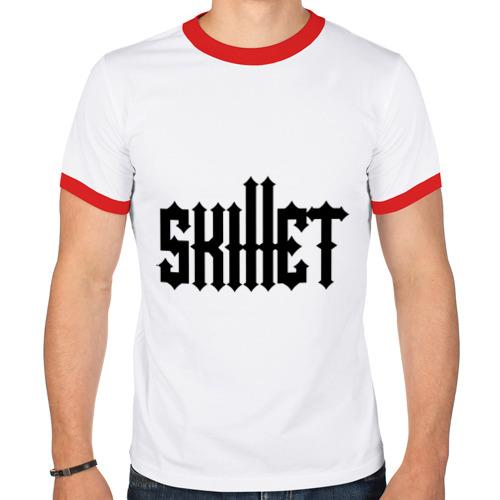 Мужская футболка рингер  Фото 01, Skillet