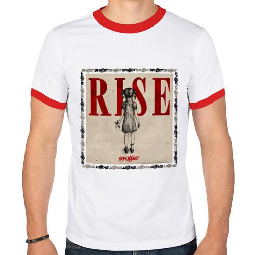 Мужская футболка рингер  Фото 01, Rise skillet