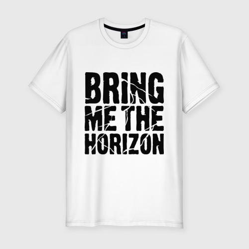 Мужская футболка премиум Bring me the horizon Фото 01