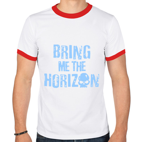 Мужская футболка рингер  Фото 01, Bring me the horizon череп