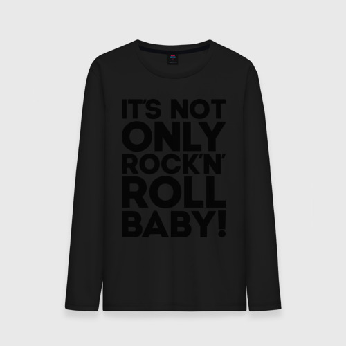 Мужской лонгслив хлопок  Фото 01, It's not only rock'n' roll