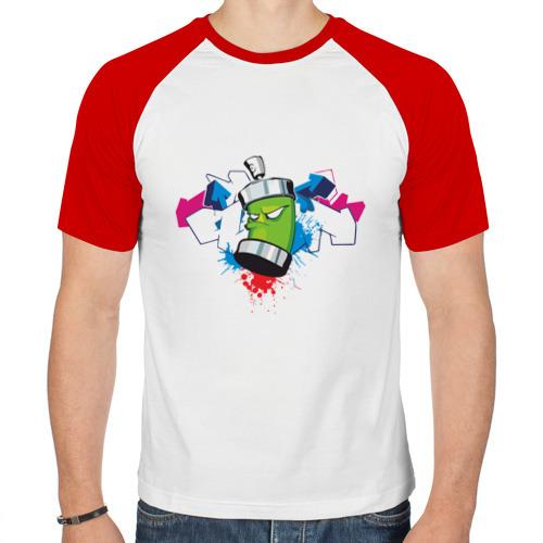 Мужская футболка реглан  Фото 01, Графитюлька