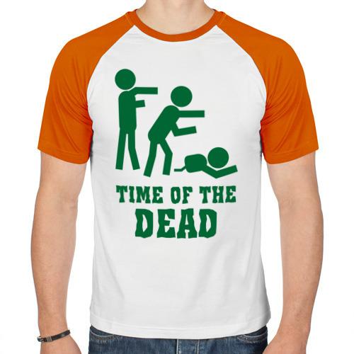 Мужская футболка реглан  Фото 01, Time of the dead