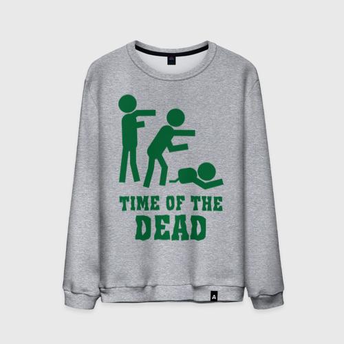 Мужской свитшот хлопок  Фото 01, Time of the dead