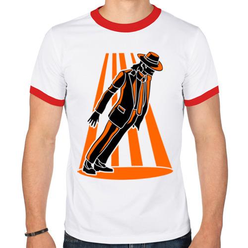 Мужская футболка рингер  Фото 01, Майкл Джексон легенда