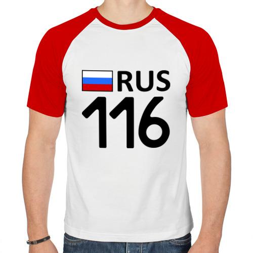 Мужская футболка реглан  Фото 01, Республика Татарстан (116)
