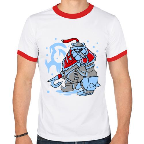 Мужская футболка рингер  Фото 01, Tusk Dota