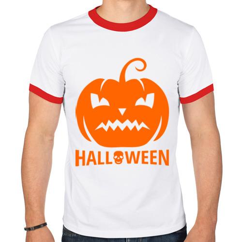 Мужская футболка рингер  Фото 01, Хэллоуин настаёт