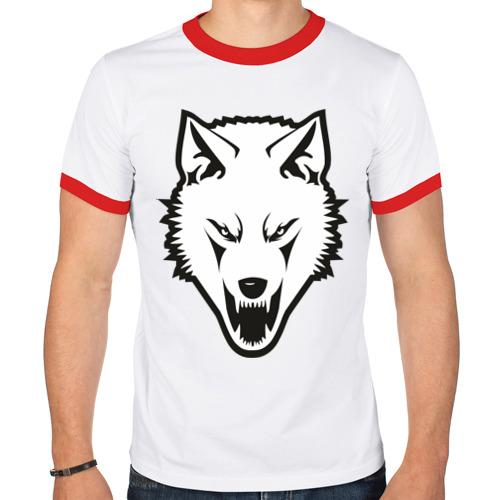Мужская футболка рингер  Фото 01, Сопротивление (white)