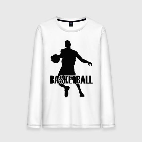 Мужской лонгслив хлопок  Фото 01, Баскетбол (Basketball) .