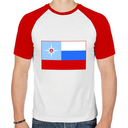Мужская футболка реглан  Фото 01, МЧС