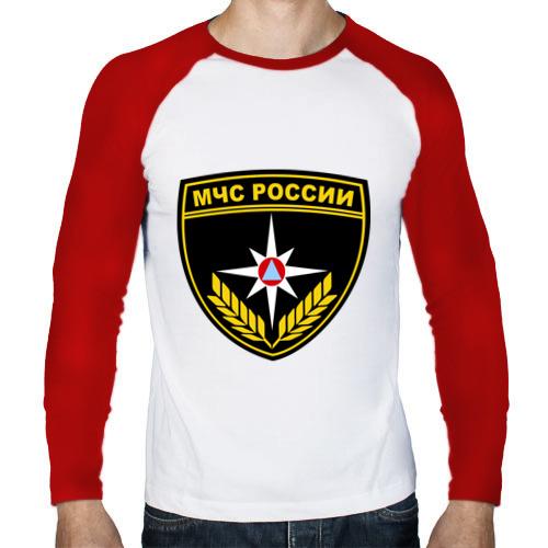 Мужской лонгслив реглан  Фото 01, МЧС России