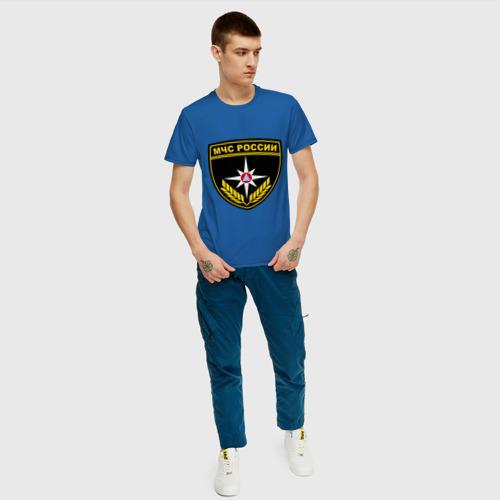 Мужская футболка хлопок  Фото 05, МЧС России
