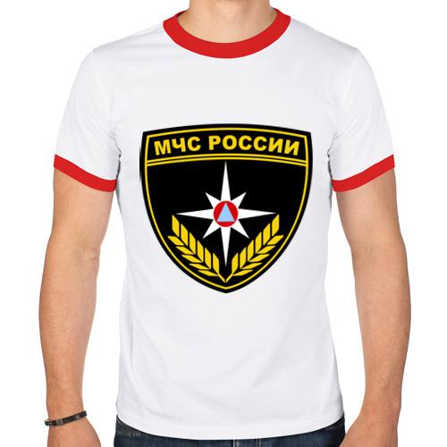 Мужская футболка рингер  Фото 01, МЧС России