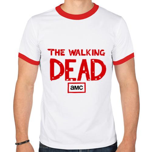 Мужская футболка рингер  Фото 01, The walking dead