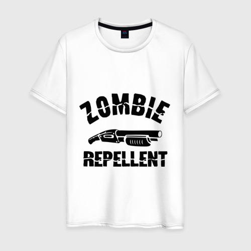 Мужская футболка хлопок Zombie repellent