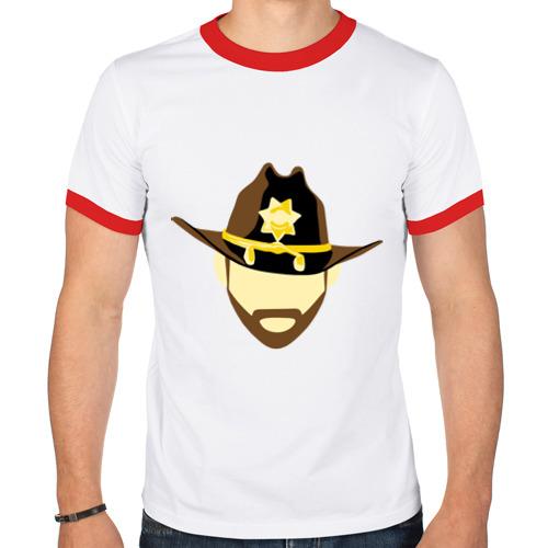 Мужская футболка рингер  Фото 01, Шериф