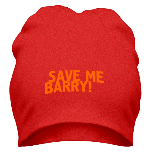 Шапка Save me, Barry!