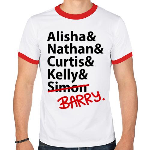 Мужская футболка рингер  Фото 01, Alisha&Natan&Curtis