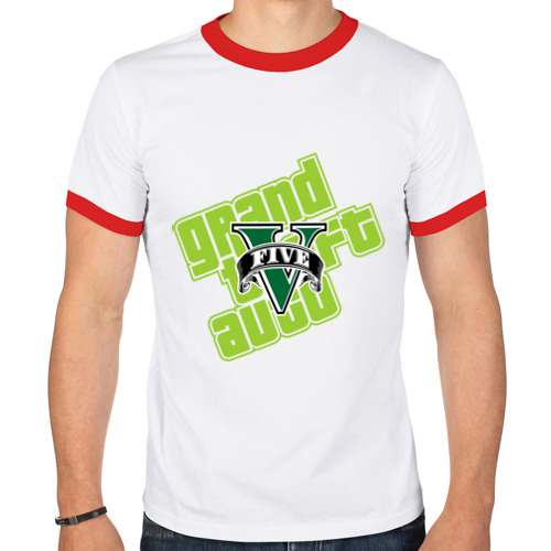 Мужская футболка рингер  Фото 01, GTA five