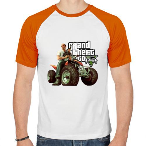 Мужская футболка реглан  Фото 01, GTA V