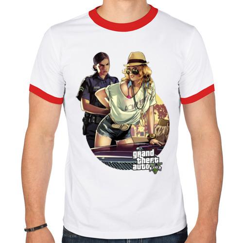 Мужская футболка рингер  Фото 01, GTA V