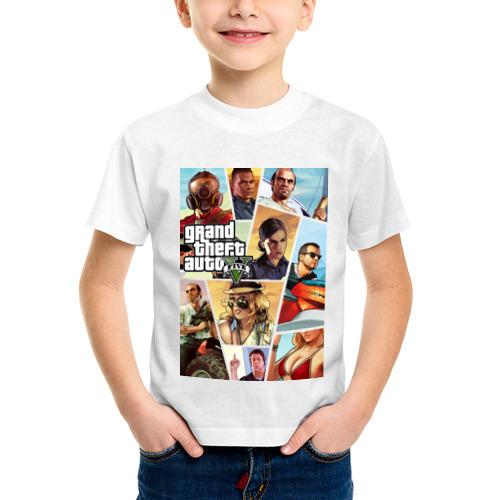 Детская футболка синтетическая GTA от Всемайки