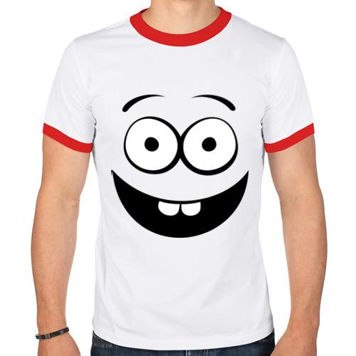 Мужская футболка рингер  Фото 01, Первые зубки