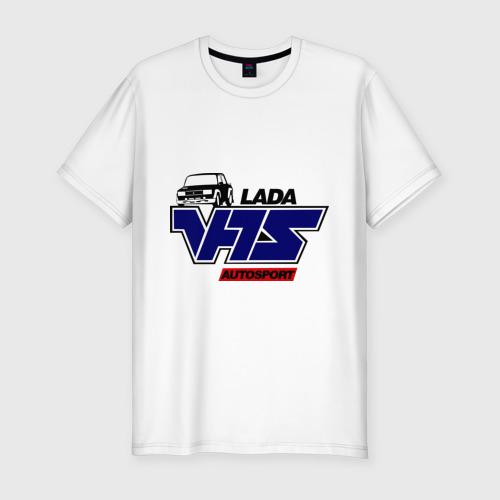 Мужская футболка премиум Lada VFTS Фото 01