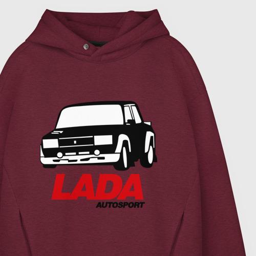 Мужское худи Oversize хлопок Lada autosport Фото 01