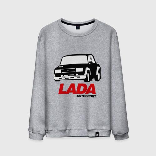 Мужской свитшот хлопок  Фото 01, Lada autosport
