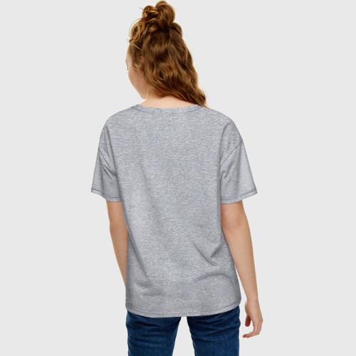 Женская футболка хлопок Oversize Нервы то не стальные Фото 01
