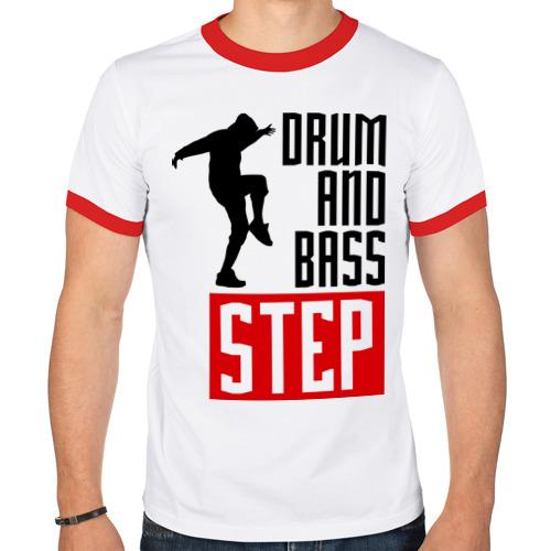 Мужская футболка рингер  Фото 01, Drum and Bass Step