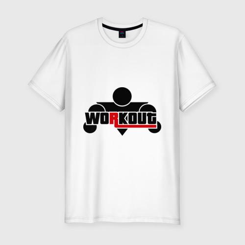 Мужская футболка премиум  Фото 01, WorkOut GTA V Style