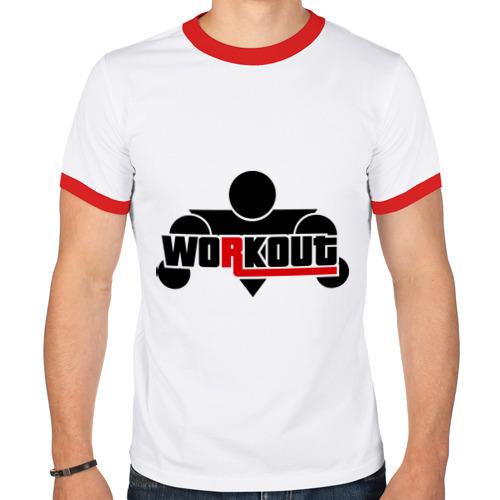 Мужская футболка рингер  Фото 01, WorkOut GTA V Style