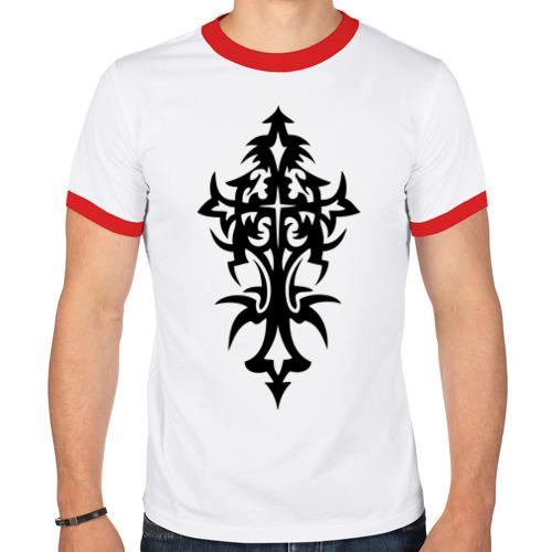 Мужская футболка рингер  Фото 01, Ornament