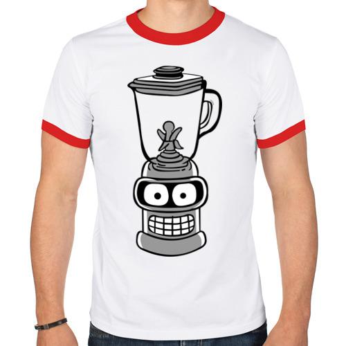 Мужская футболка рингер  Фото 01, Blender