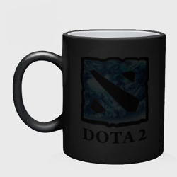 Dota 2 logo blue
