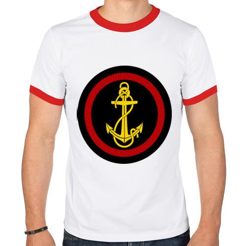 Мужская футболка рингер  Фото 01, Морская пехота