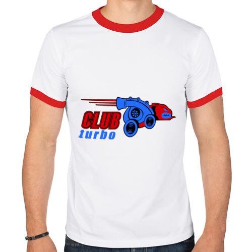 Мужская футболка рингер  Фото 01, Club turbo